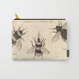 Naturalist Bees Carry-All Pouch
