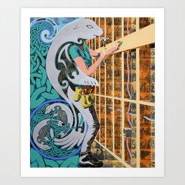 Hammer Home Art Print