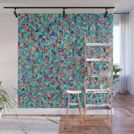 Diamond Prism Pattern Wall Mural