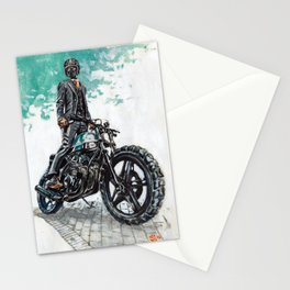 The Racer Stationery Cards