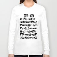 pi Long Sleeve T-shirts featuring Bad Pi by mailboxdisco