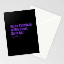 Proverbs Stationery Cards