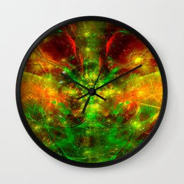Crab Stardust- The Mind Opens Wall Clock