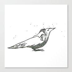 Adventures with birds 1 Canvas Print
