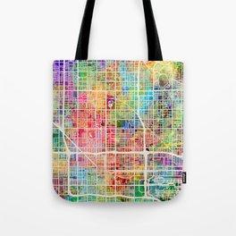 Phoenix Arizona City Map Tote Bag