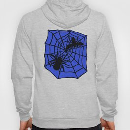 Confrontation. Blue Hoody