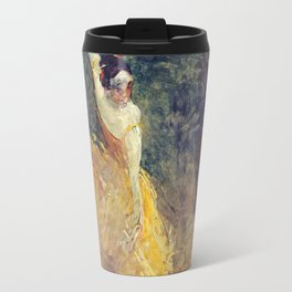 Henri De Toulouse - Lautrec - The Spanish Dancer Travel Mug