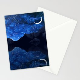 Moonlit Awakening Stationery Cards