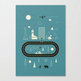 City ... Canvas Print