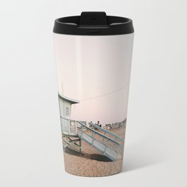 Marina del Rey Lifeguard Tower Travel Mug