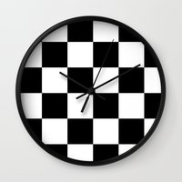 chess Wall Clocks featuring Chess ? by Abstracthelabel
