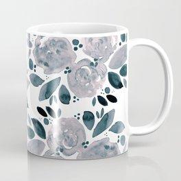 Abstract watercolor roses - neutral Coffee Mug