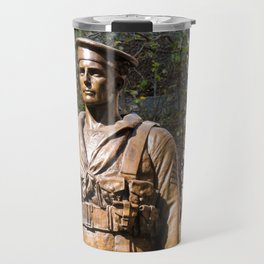 """Lest We Forget"" Sydney Cenotaph Travel Mug"