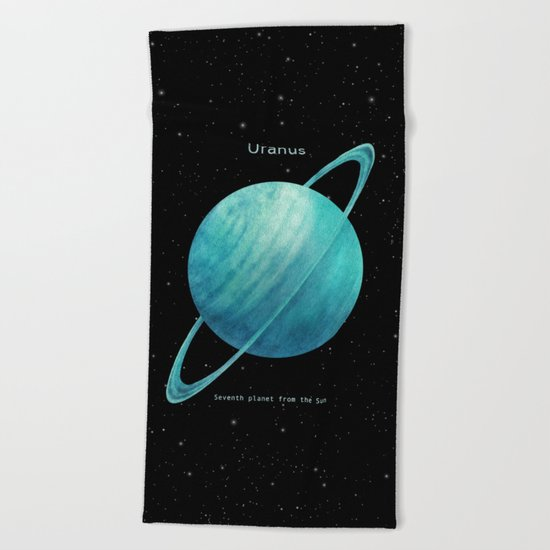 Uranus Beach Towel