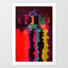 th'cyrrynt yyrr Art Print