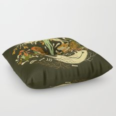 Animal Chants & Forest Whispers Floor Pillow
