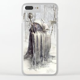 Witch of the White Wood Clear iPhone Case