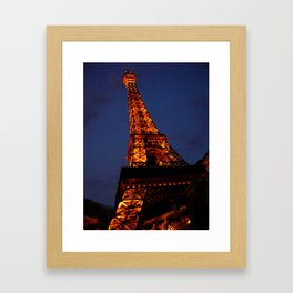 Las Vegas - Paris Framed Art Print
