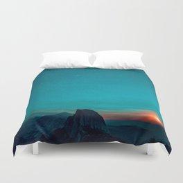 The Sunrises (Color) Duvet Cover