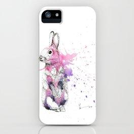 Bunny I iPhone Case