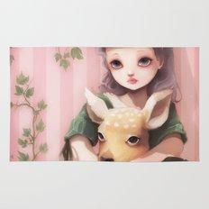 My dear lady deer... Rug