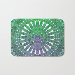 Spring Mandala Wheel Bath Mat