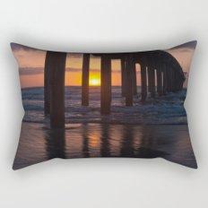 Sunset Captured Rectangular Pillow