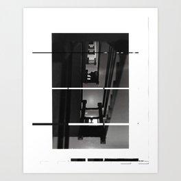 Coppelius IV (deconstructed) Art Print