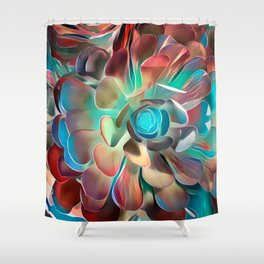 Mirth is like a flash of lightning... Shower Curtain