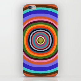 Technicolor dream 002 iPhone Skin