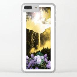 Mist of Bridalveil Fall Clear iPhone Case