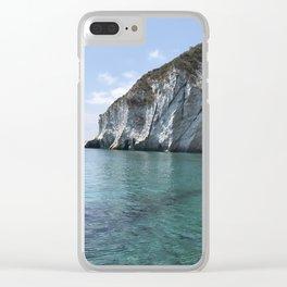 Ponza's Island Clear iPhone Case