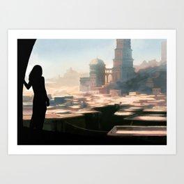 Dakaia Art Print