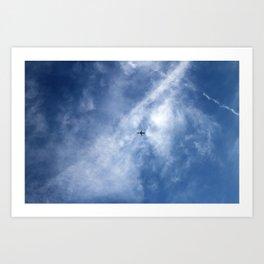 Cloud Patterns Art Print