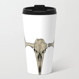Moose skull & antlers Travel Mug