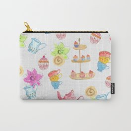 Tea party paper texture Carry-All Pouch