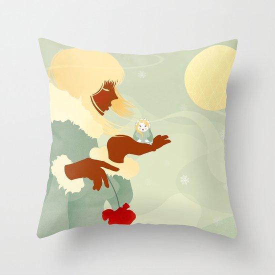 Mountain Poppies Throw Pillow