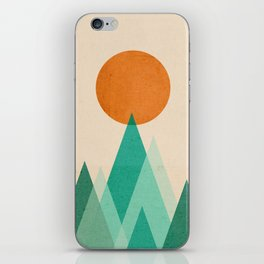 No mountains high enough iPhone Skin