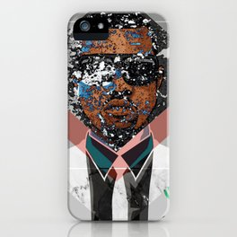 Hip Hop KanyeWest Compilation Minimal Abstract iPhone Case