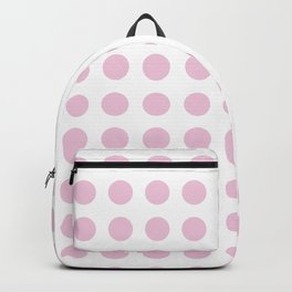 Simply Polka Dots in Blush Pink Backpack