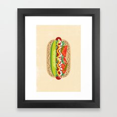 Chicago Style Framed Art Print