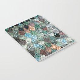 SUMMER MERMAID SEAWEED MIX by Monika Strigel Notebook