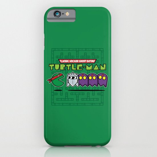 Hero in a Pac-Shell (Raph) iPhone & iPod Case
