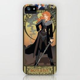 Sorsha Nouveau - Willow iPhone Case