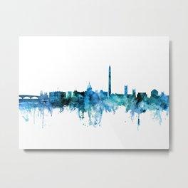 Washington DC Skyline Metal Print