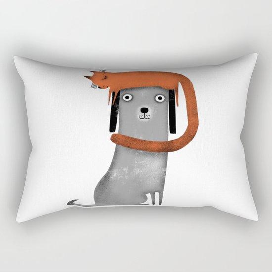 CAT LANDING Rectangular Pillow