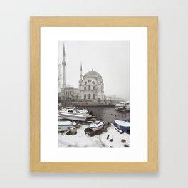 Dolmabahçe  Framed Art Print
