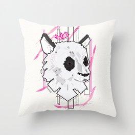 Queen Panda Throw Pillow