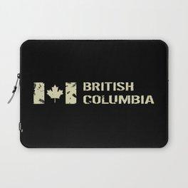 Canadian Flag: British Columbia Laptop Sleeve