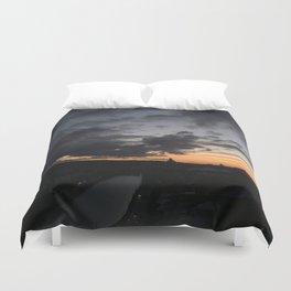 Sunrise in Georgia // #TravelSeries Duvet Cover